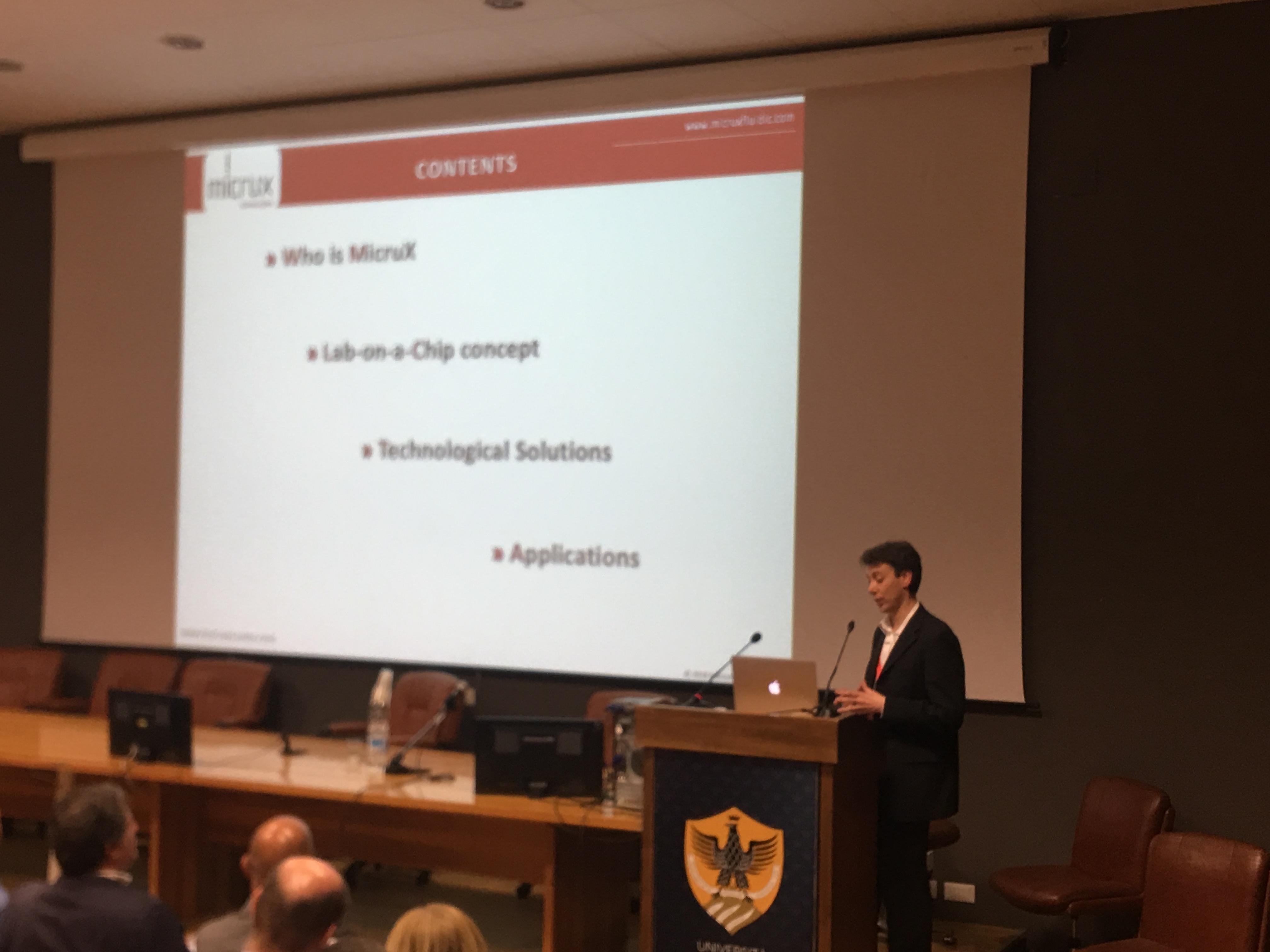 Dr. Castano Alvarez, MicruX Technologies
