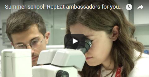 Bioscience Summer school 2017: RepEat ambassadors for young students