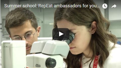 Bioscience Summer school: RepEat ambassadors for young students