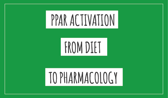 PPAR Activation from diet to pharmacology