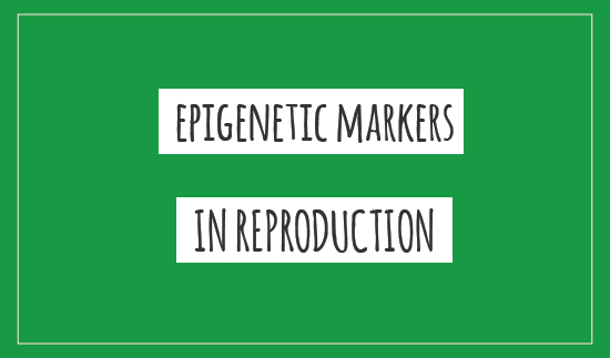 Epigenetic markers in reproduction