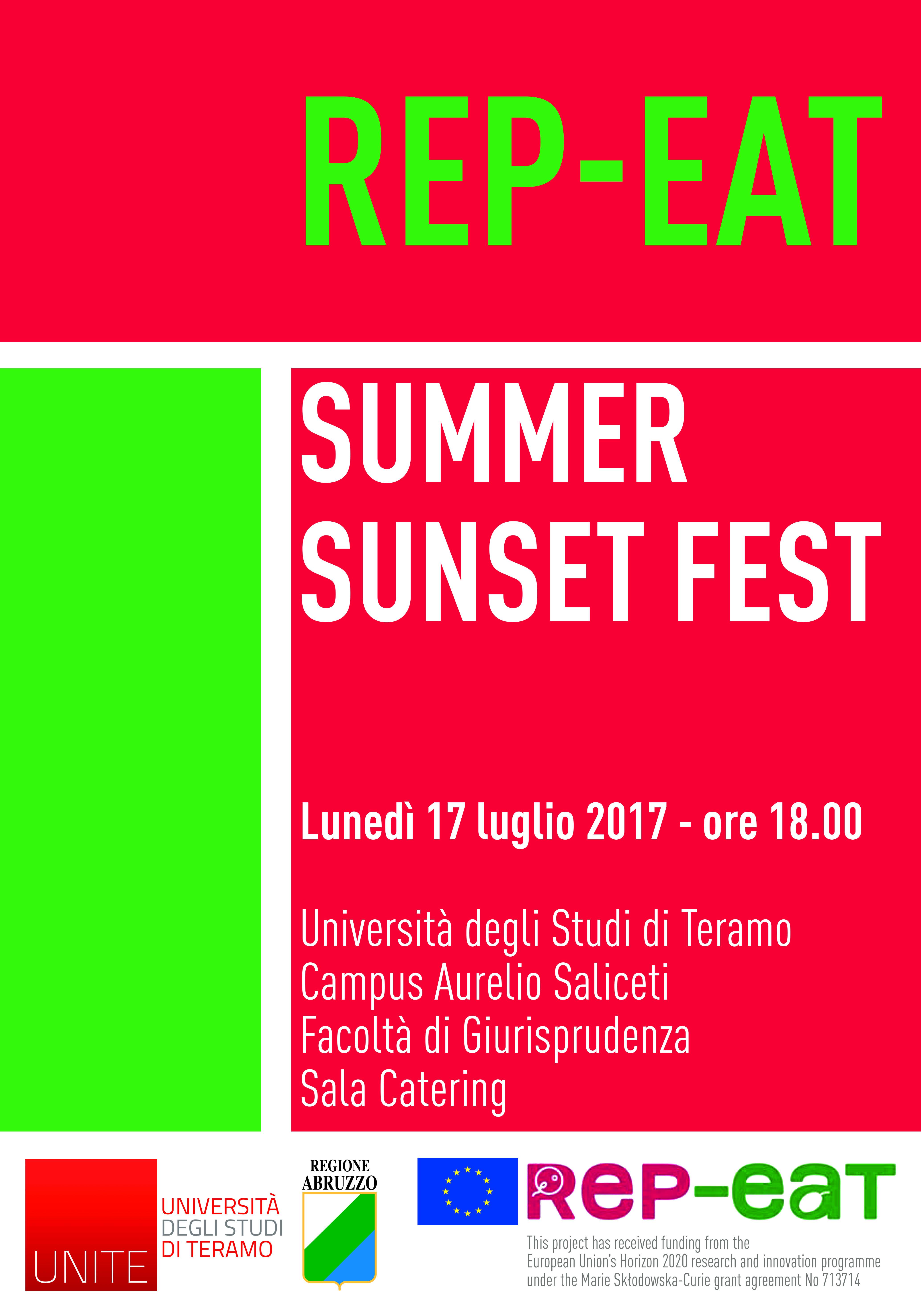Rep-eat Summer Sunset Fest