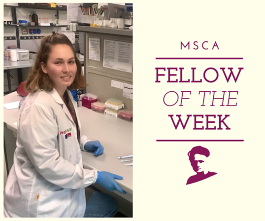 Elizabeta Zaplatic, MSCA fellow of the week