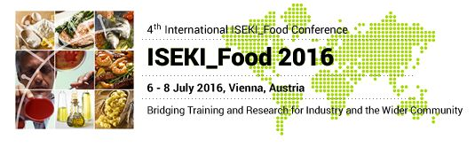 4th International ISEKI_Food Conference